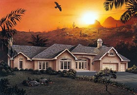 Traditional House Plan 87338 Elevation
