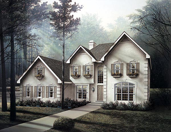 Traditional House Plan 87340 Elevation