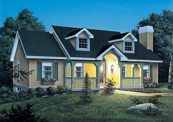 House Plan 87356 at FamilyHomePlans.com