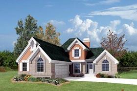 European House Plan 87360 Elevation