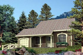 Country House Plan 87361 Elevation