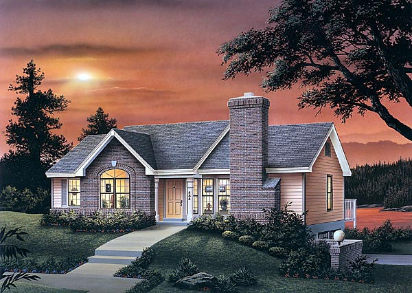 House Plan 87362