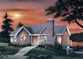Plan Number 87362 - 1403 Square Feet