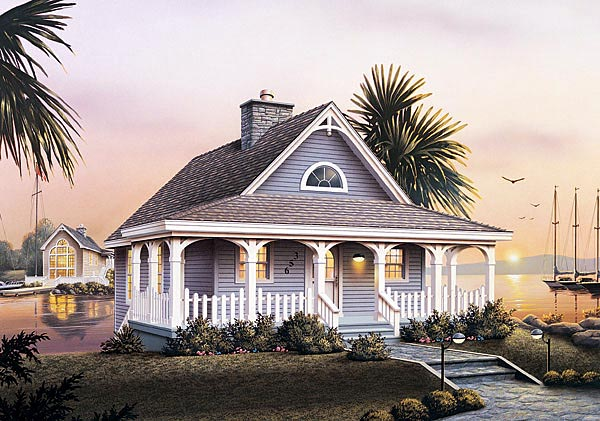 Victorian House Plan 87369 Elevation