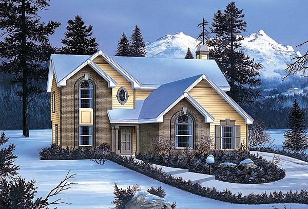 Traditional House Plan 87370 Elevation