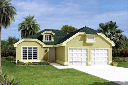 Florida House Plan 87372 Elevation