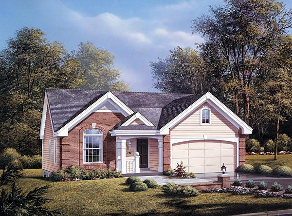 Traditional House Plan 87377 Elevation