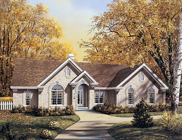 Traditional House Plan 87379 Elevation
