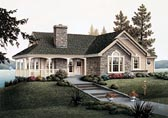 Plan Number 87381 - 1384 Square Feet