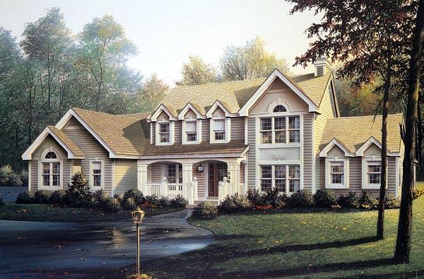 Farmhouse House Plan 87383 Elevation