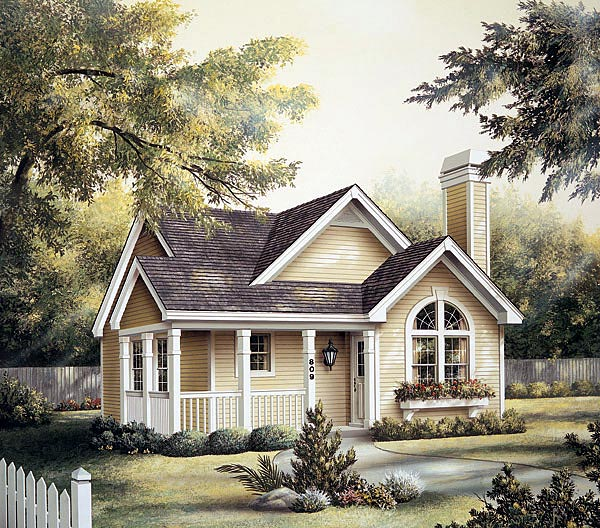 Country House Plan 87390 Elevation