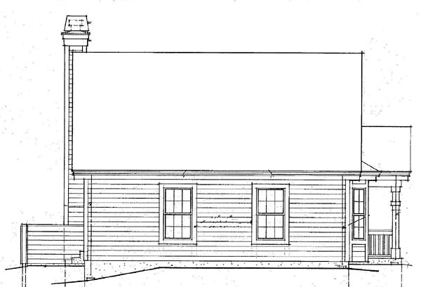 Country House Plan 87390 Rear Elevation