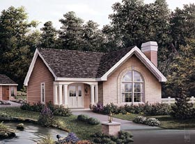 Country House Plan 87392 Elevation