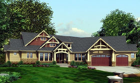Craftsman House Plan 87400 Elevation