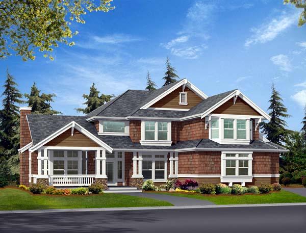 Craftsman House Plan 87402 Elevation