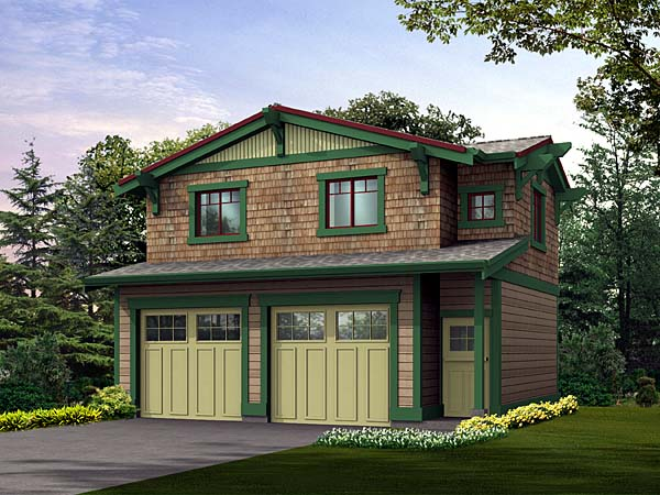 Craftsman Garage Plan 87403 Elevation