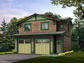 Plan Number 87403 - 565 Square Feet