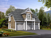 Plan Number 87404 - 755 Square Feet