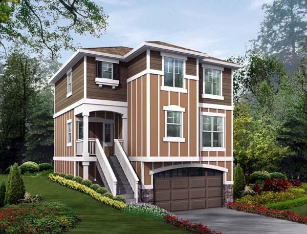 House Plan 87411