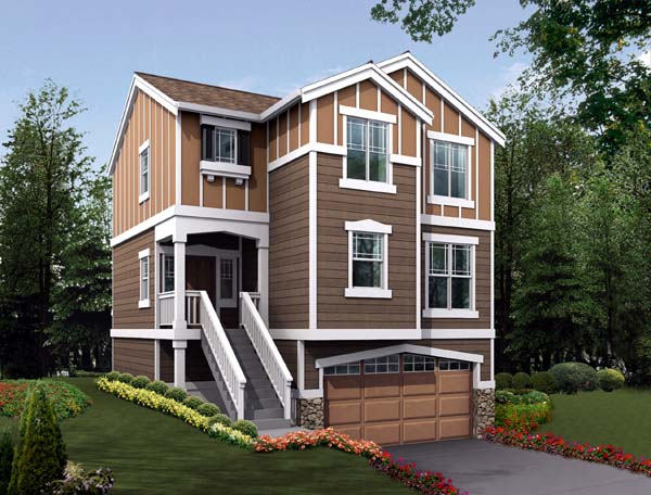 House Plan 87412