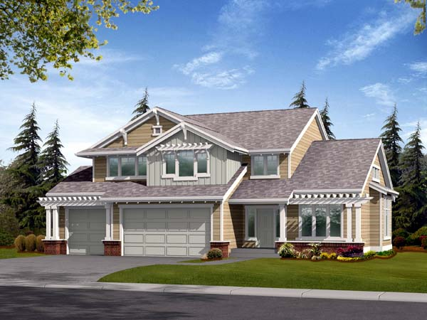 House Plan 87422
