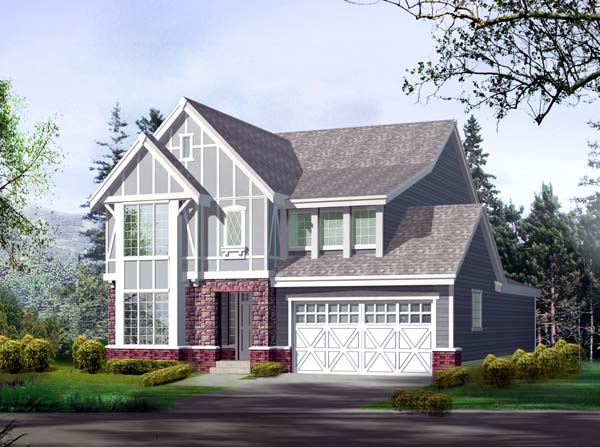 Craftsman House Plan 87427 Elevation