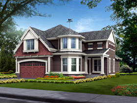 Farmhouse House Plan 87444 with 3 Beds, 3 Baths, 3 Car Garage Elevation
