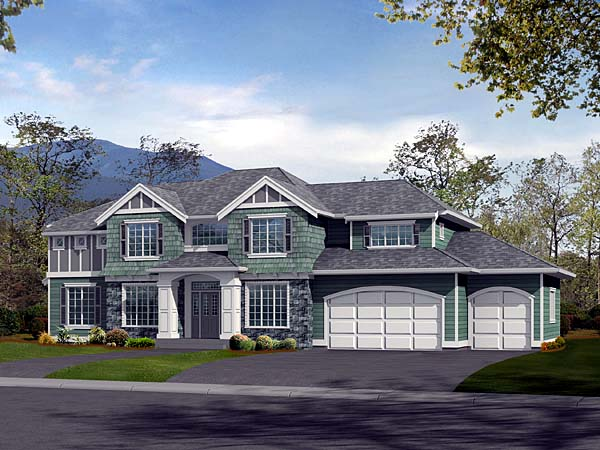 Traditional House Plan 87448 Elevation