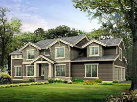 Plan Number 87450 - 2944 Square Feet