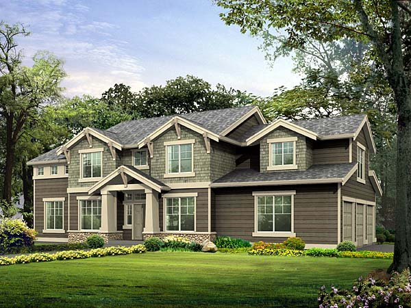 Craftsman House Plan 87450 Elevation