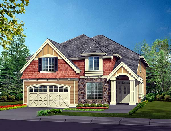 Traditional House Plan 87453 Elevation