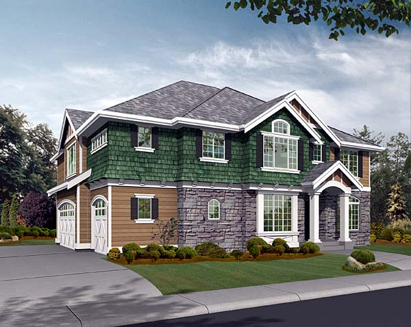 Craftsman Traditional House Plan 87456 Elevation