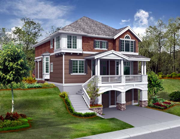 Craftsman House Plan 87460 Elevation