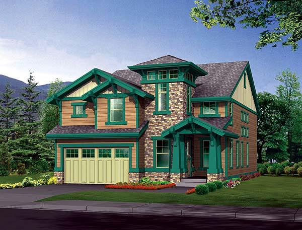 Craftsman House Plan 87477 Elevation