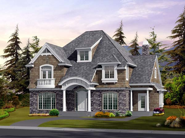 Country Craftsman House Plan 87483 Elevation