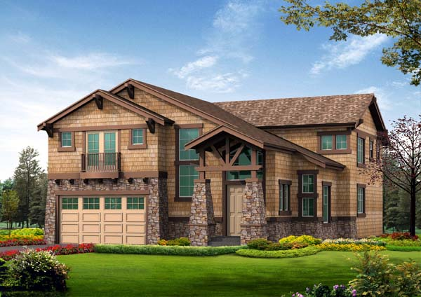 Craftsman House Plan 87486 Elevation