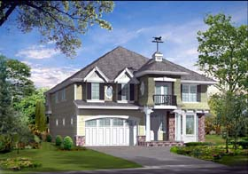 Colonial Country Traditional House Plan 87490 Elevation