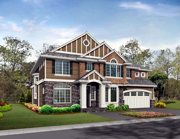 Craftsman House Plan 87492 Elevation