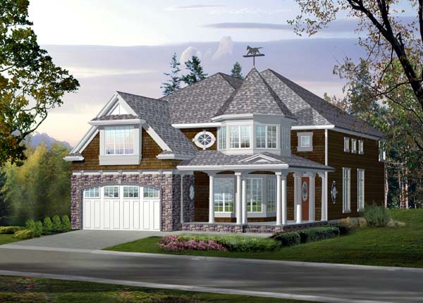 Victorian House Plan 87497 Elevation