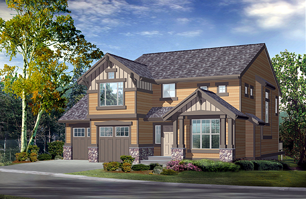 Craftsman House Plan 87501 Elevation