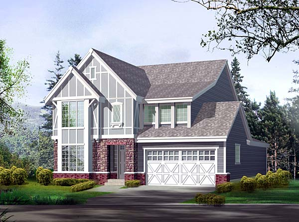 Craftsman House Plan 87518 Elevation