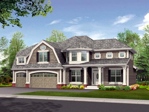 Country House Plan 87522 Elevation