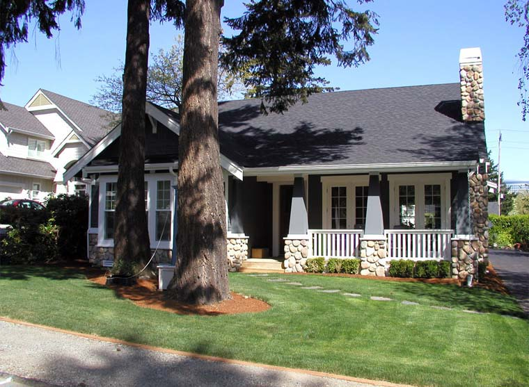 Bungalow, Craftsman House Plan 87523 with 5 Beds, 3 Baths, 2 Car Garage Picture 5