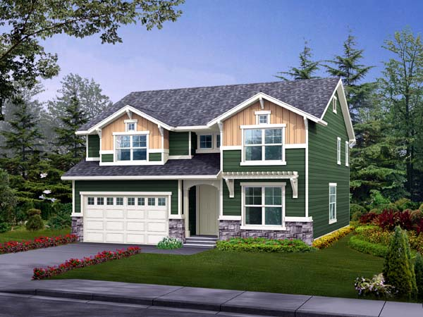 Craftsman House Plan 87524 Elevation