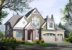 Craftsman Victorian House Plan 87526 Elevation