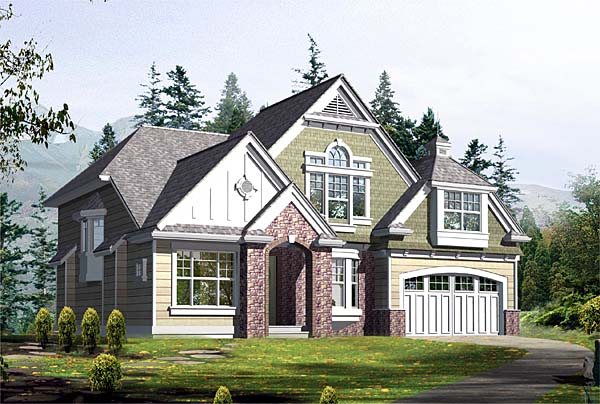 Craftsman Victorian House Plan 87527 Elevation