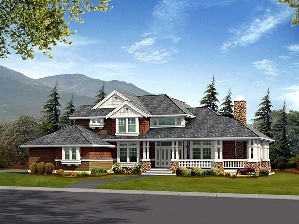 Craftsman House Plan 87530 Elevation
