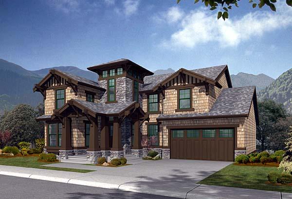 Craftsman Southern House Plan 87537 Elevation