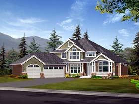 Traditional House Plan 87540 Elevation