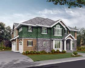Craftsman Traditional House Plan 87542 Elevation